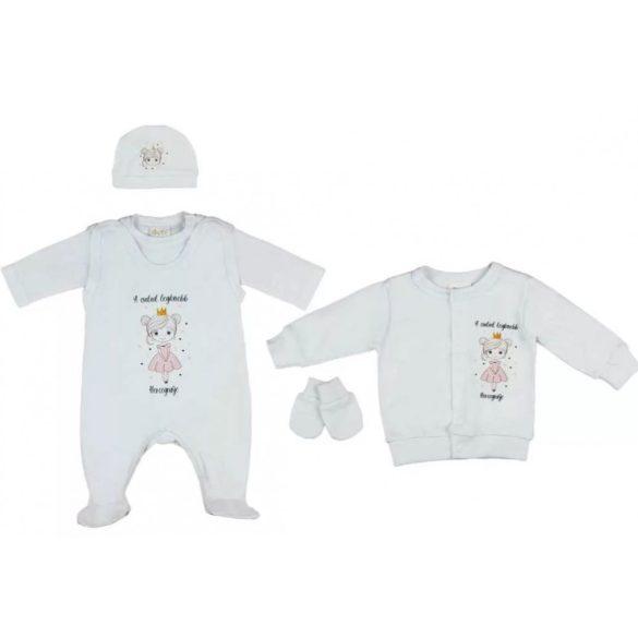 Disney Minnie Love 3 részes babaruha szett