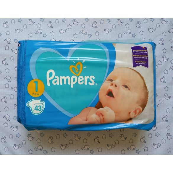Pampers pelenka 43 db-os Newborn