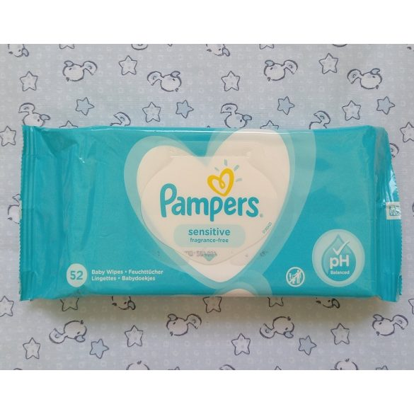 Pampers törlőkendő 52 db-os Fresh Clean
