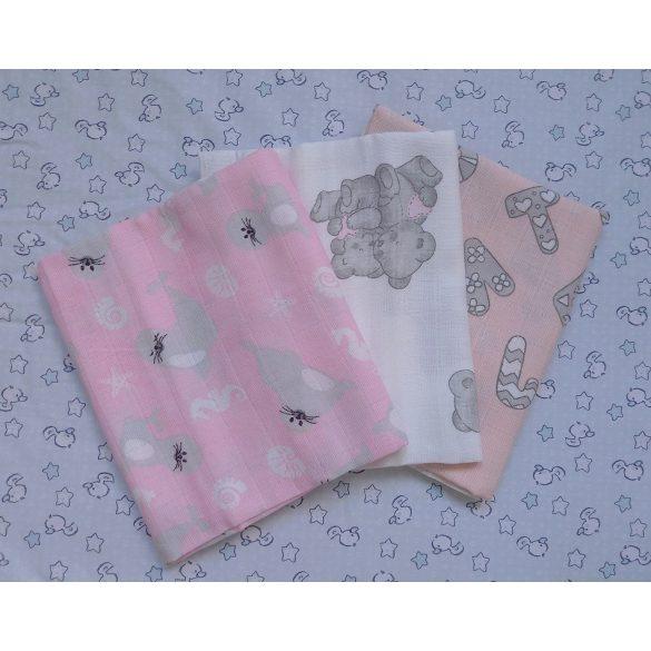 Mintás tetra típusú textilpelenka