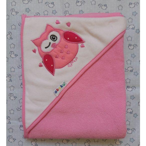 Akuku babatörölköző - bagoly rózsaszín