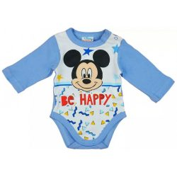 Be Happy Disney Mickey hosszú ujjú baba body
