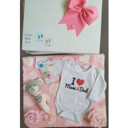 I love Mum & Dad Babaváró csomag lányos - kicsi