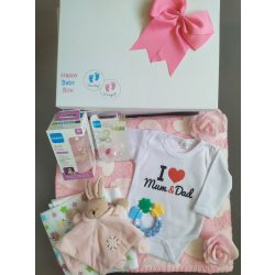 I love Mum & Dad Babaváró csomag lányos - nagy