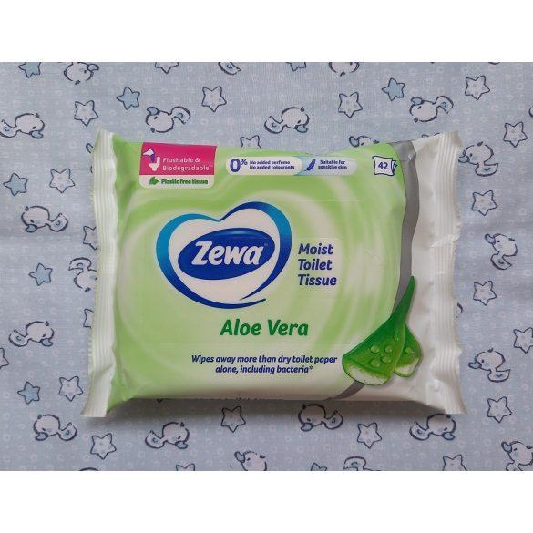 Zewa Aloe Vera nedves toalettpapír 42 db-os