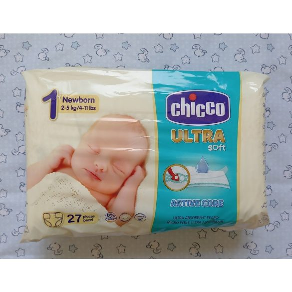 Chicco Ultra Soft Pelenka 2-5kg Newborn 1 (27db)