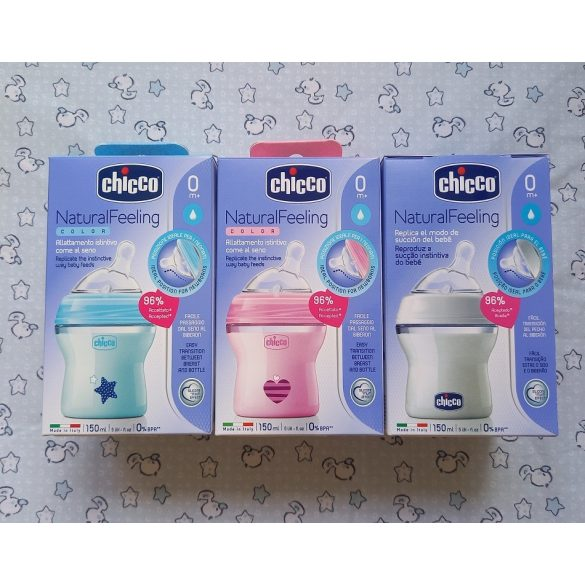 Chicco NaturalFeeling cumisüveg 150 ml