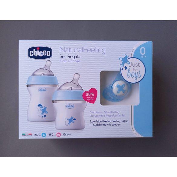 Chicco NaturalFeeling Blue ajándékszett