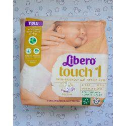 Libero Touch pelenka - Újszülött 1-es (2-5 kg) 22 db