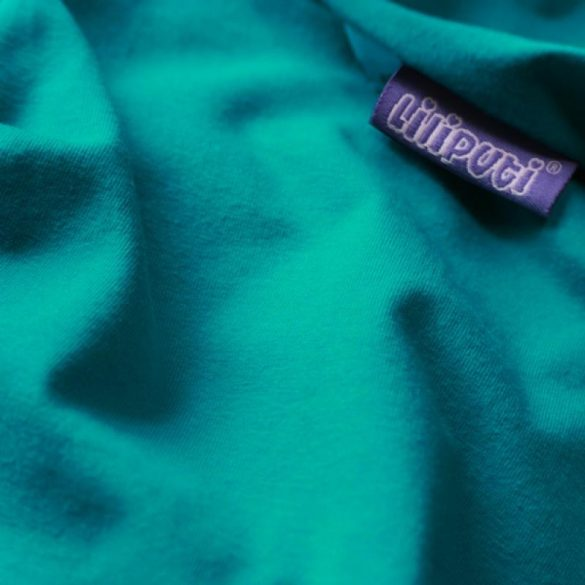 Liliputi Rugalmas Hordozókendő Classic line - Turquoise Summer