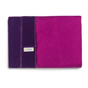 Liliputi Rugalmas Hordozókendő Duo line - Purple-Fuchsia